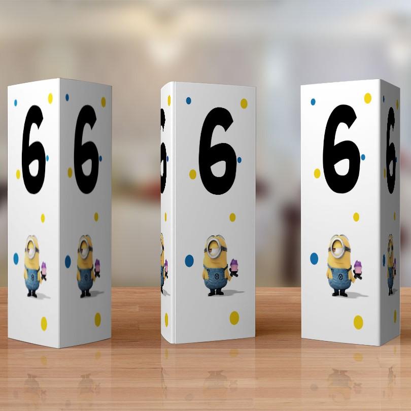 Cele mai originale numere de masa cu minioni