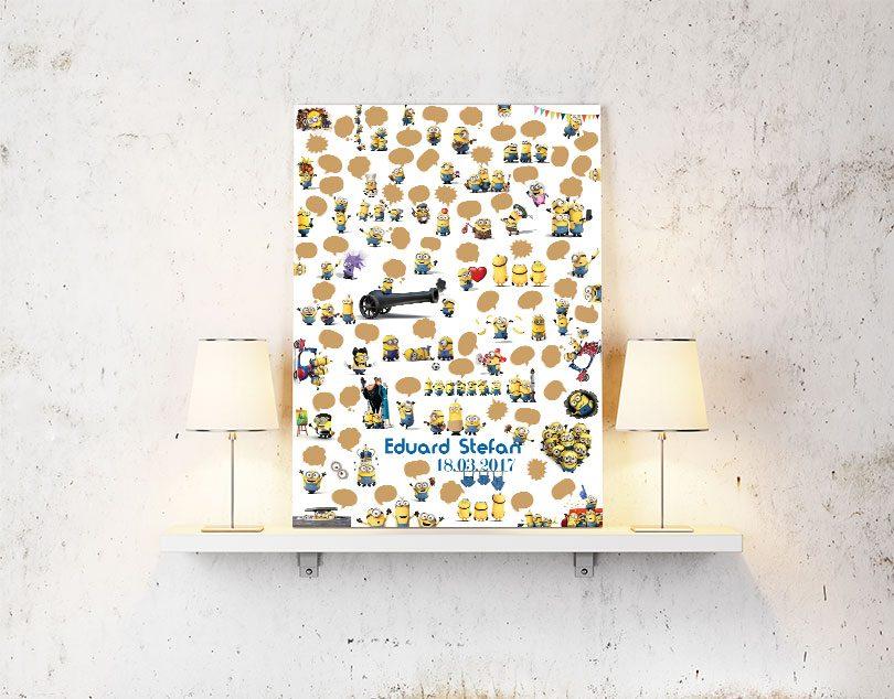 Guestbook cu Minioni sau Carti pentru Oaspeti
