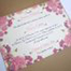 Invitatie de nunta Kraft cu Trandafiri1