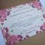 Invitatie de nunta Kraft cu Trandafiri2