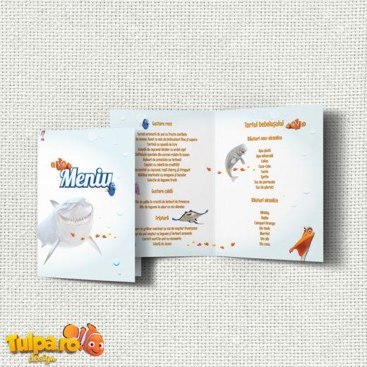 Meniuri pentru botez cu tema Finding Nemo 1