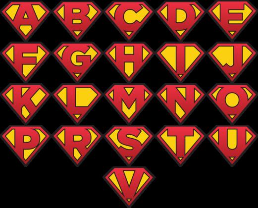 Logo-uri invitație de botez superman