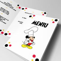 Cele mai originale meniuri de botez cu Mickey Mouse