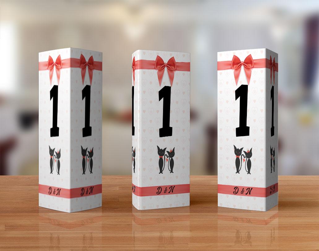 Numere de masa pentru nunta