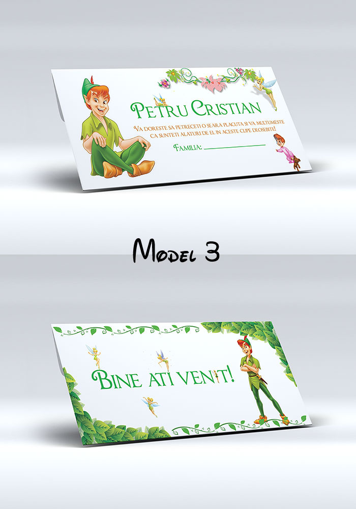 Plic pentru bani cu Peter Pan