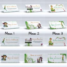 3 modele originale de plicuri pentru bani cu Peter Pan