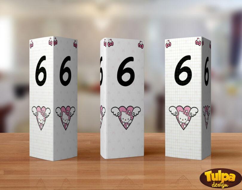 numere de masa Hello Kitty
