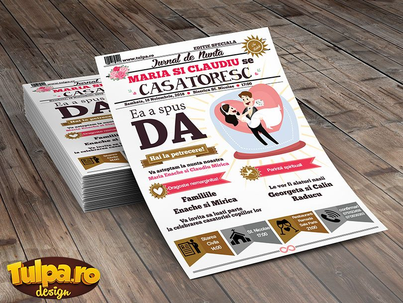 invitatie de nunta wedding magazine