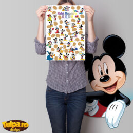 Guest Book Mickey Mouse