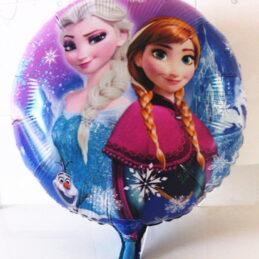 Balon mare cu Elsa si Anna din Frozen din desenul animat Frozen