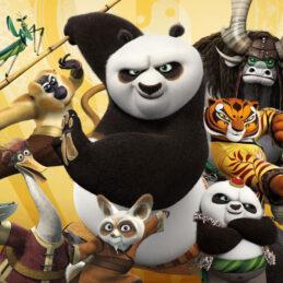 Set pentru botez Kung Fu Panda şi prietenii