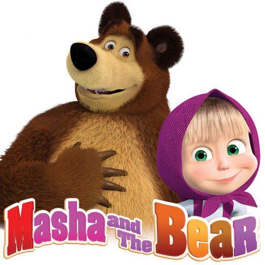 Set pentru botez cu Masha si Ursuletul