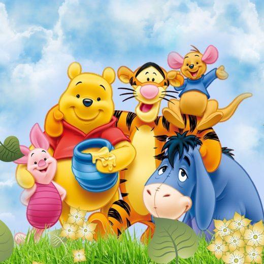Set pentru botez cu Winnie the Pooh