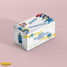 Cutie cu Strumfi pentru plicurile de bani