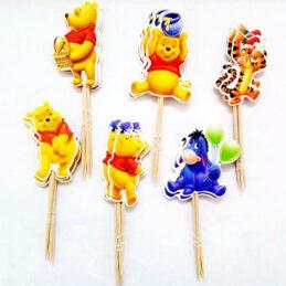 Scobitori cu Winnie the Pooh pentru Candy Bar