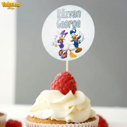 Scobitori pentru brioşe cu tema Clubul lui Mickey Mouse