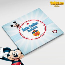 Carte de amintiri cu Mickey Mouse
