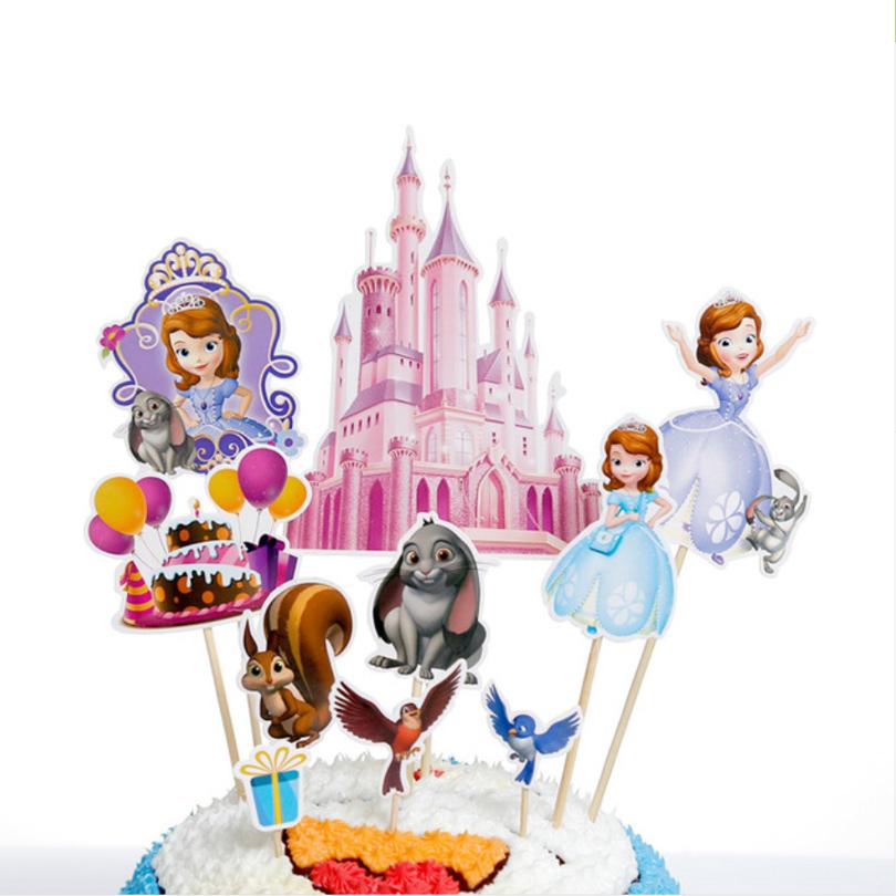 Set scobitori Candy Bar cu Prinţesa Sofia