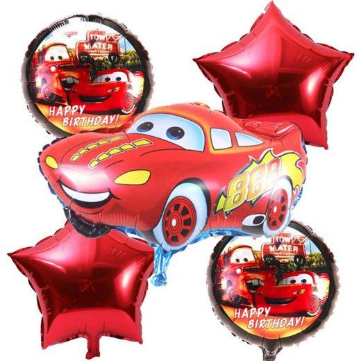 Baloane Cars - Fulger McQueen. Set format din 5 piese