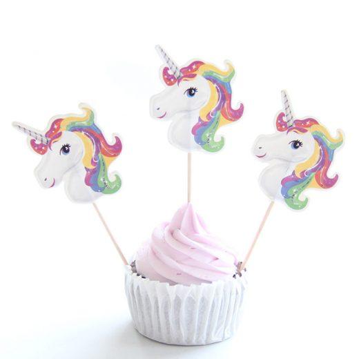 Scobitori cu Unicorni pentru Candy Bar