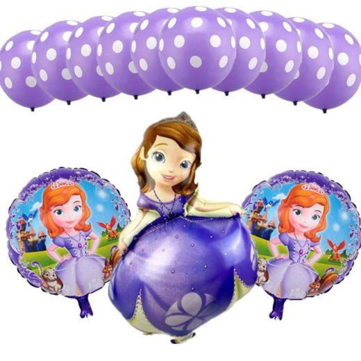 Set baloane cu Prinţesa Sofia