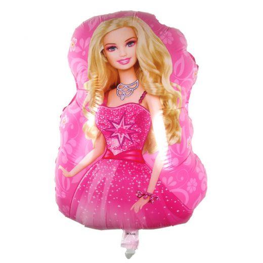 Baloane Barbie, deosebite in combinatie cu produsele pentru botez cu aceeasi tema.