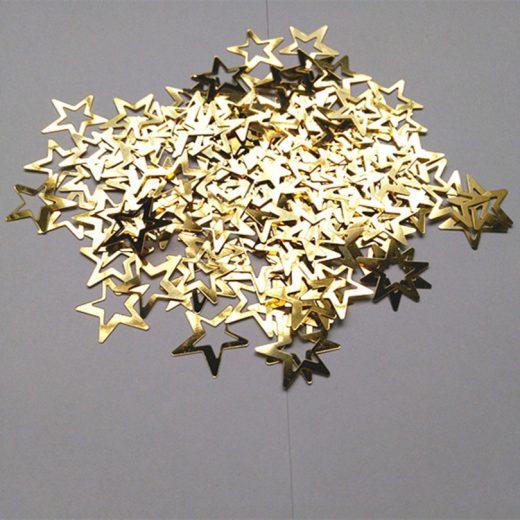 Confetti steluţe de culoare aurie. Adăugaţi o strălucire extra evenimentului dumneavoastră