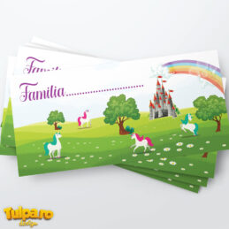 Plic pentru bani cu unicorni