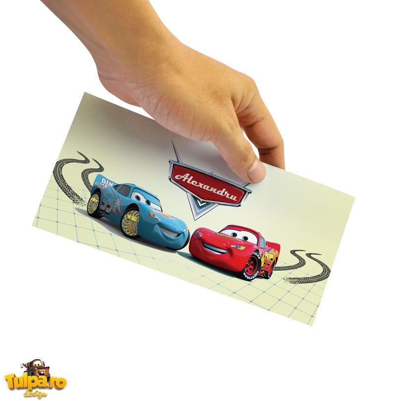 Plicuri pentru bani cu Cars