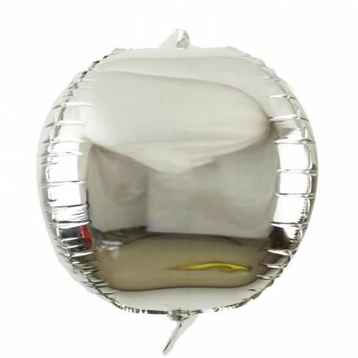 Balon rotund argintiu