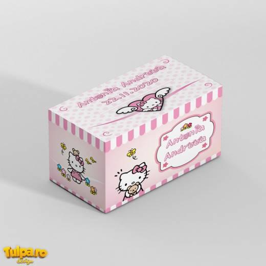 Cutie cu Hello Kitty pentru plicurile de dar