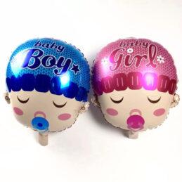 Baloane pentru botez Baby Boy si Baby Girl