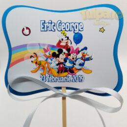 Decoraţiune cu Mickey si prietenii pentru masă sau Candy Bar