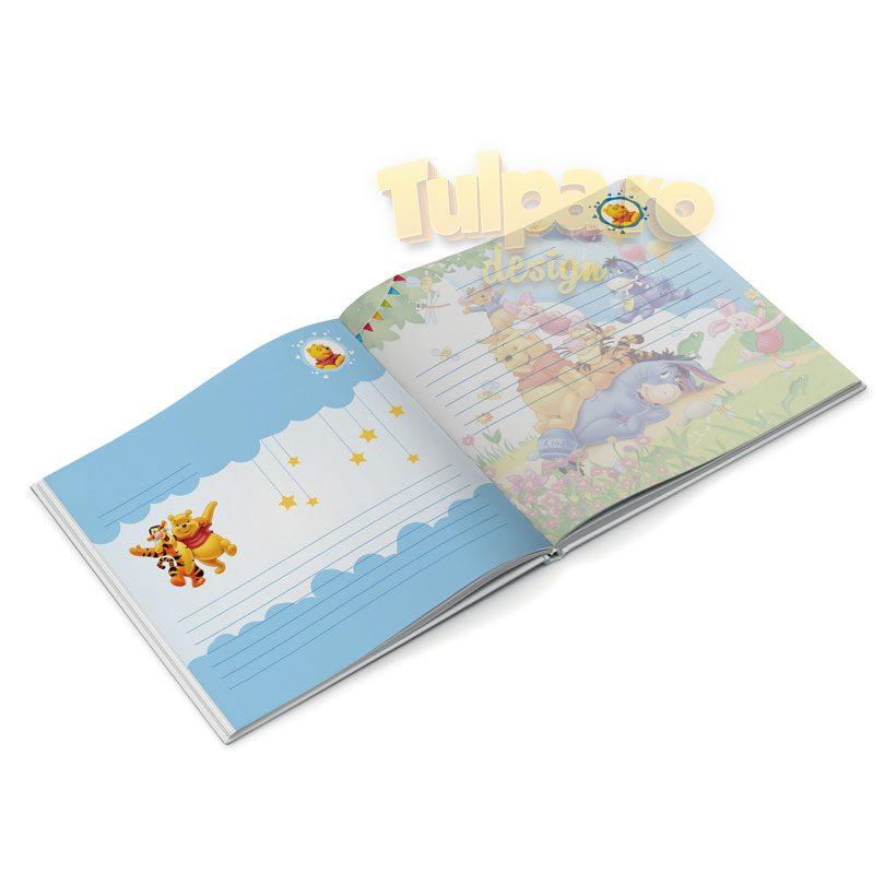 Guest Book cu Winnie the Pooh