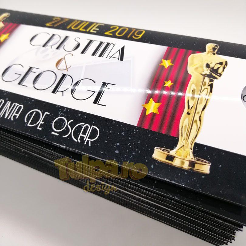 invitatie de nunta Oscar Party