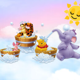 Invitatie video cu Winnie the Pooh