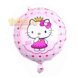 Balon cu Hello Kitty rotund