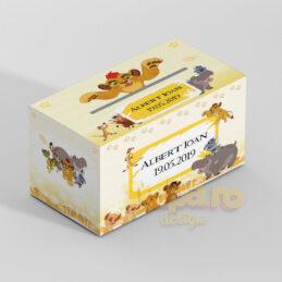 Cutie cu Kion din Garda Felină, pentru plicurile de dar