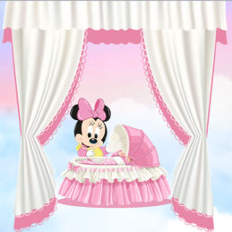 invitatie video cu Minnie Mouse