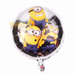 Balone cu minioni, formă rotundă