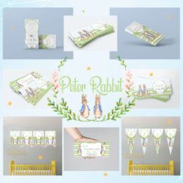 Produse pentru botez cu iepuraşul Peter Rabbit