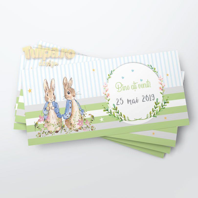 Plic cu Peter Rabbit pentru darul de botez
