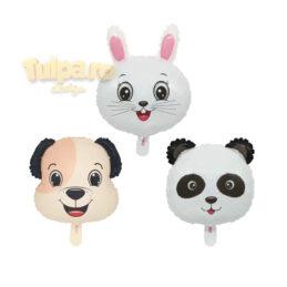 Baloane animăluţe, Panda, Căţel şi Iepuraş, se format din 3 piese