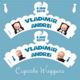 Cupcakes cu Boss Baby