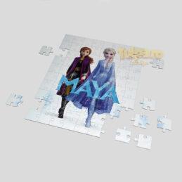 Puzzle personalizat cu Elsa.