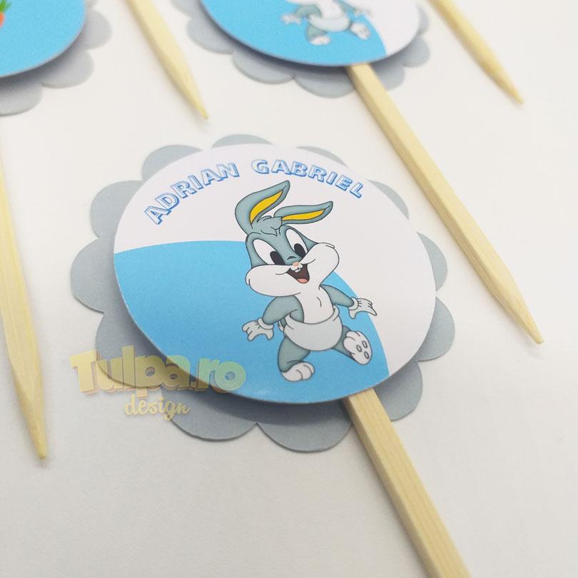 Beţişoare pentru Candy Bar cu Bugs Bunny Baby