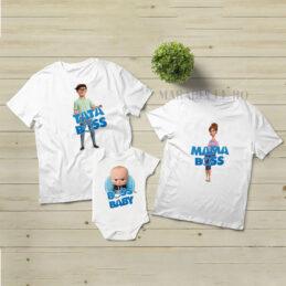 Tricouri personalizate cu Boss Baby