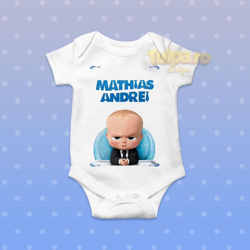 Bodz personalizat cu Boss Baby