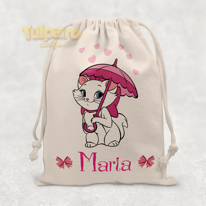 Săculeţ personalizat cu Marie