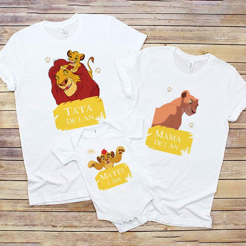 Tricouri aniversare cu Garda Felină